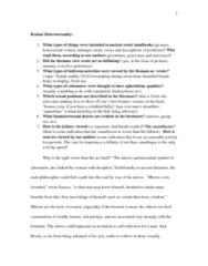 Classical Studies 3400E Chapter Notes -Erotic Art, Fellatio, Pinax