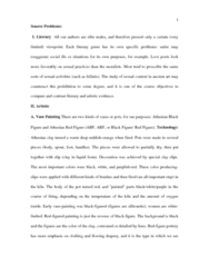 Classical Studies 3400E Chapter Notes -Kylix, Fellatio, Polychrome