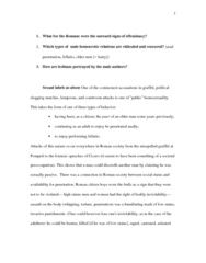 Classical Studies 3400E Chapter Notes -Homosexuality In Ancient Rome, Anal Sex, Effeminacy