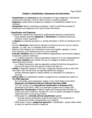 Psychology 2042A/B Chapter Notes - Chapter 5: Inter-Rater Reliability, Intellectual Disability, Learning Disability