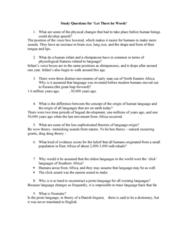 ANTH 1150 Lecture Notes - Nostratic Languages, Proto-Language