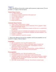 BPK 205 Chapter Notes - Chapter 11: Sliding Filament Theory, Autonomic Ganglion, Myocyte
