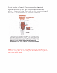 BPK 205 Chapter Notes -Postcentral Gyrus, Withdrawal Reflex, Anterior Grey Column