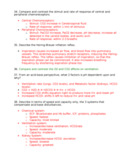 BPK 205 Chapter Notes -Pulmonary Stretch Receptors, Peripheral Chemoreceptors, Local Anesthetic