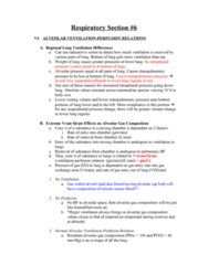 BPK 306 Lecture Notes - Transpulmonary Pressure, Intrapleural Pressure, Alveolar Pressure
