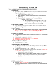 BPK 306 Lecture Notes - Partial Pressure, Blood Gas Tension, Hemoglobin