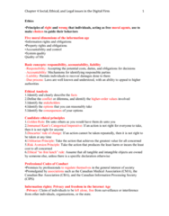 ITM 102: Chapter 4 Notes