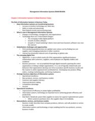 ITM Exam Review