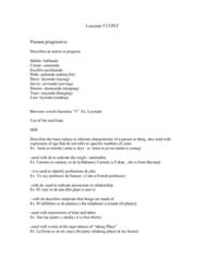 Leccion 5 Exam study notes 2