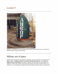 Geography 2090A/B Lecture Notes - Lecture 9: Military Communications