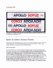 Geography 2090A/B Lecture Notes - Lecture 9: Weekly World News, A Trip To The Moon, Space Art