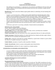 Chapter 13- detailed textbook notes for final exam