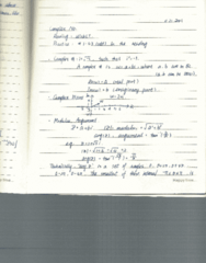 Applied Mathematics 2402A Lecture Notes - Webct