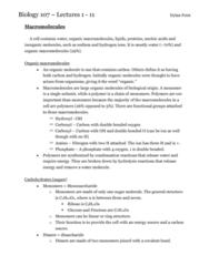 BIOL 107 Entire Term Notes