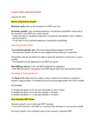 ECON 1010 Lecture Notes - Lecture 3: Speedup