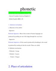 LIN100Y1 Lecture Notes - Morpheme, Tenuis Consonant