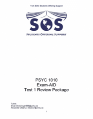 PSYC 1010 Study Guide - Midterm Guide: Terror Management Theory, Psychology Today
