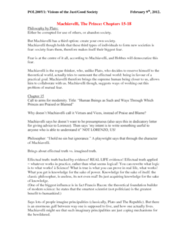 POL200Y1 Lecture Notes - Cesare Borgia