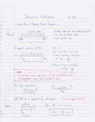 CIVENG 2C04 Lecture Notes - Oa