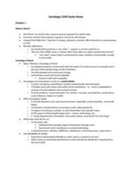 Sociology 2169 Study Notes 1st Semester Midterm.docx
