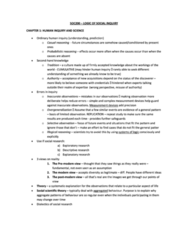 SOC200H1 Chapter Notes -Conversation Analysis, Operational Definition, Reductionism
