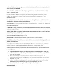 SOC479H1 Lecture Notes - Grammatical Gender, Sex Segregation, Glass Ceiling