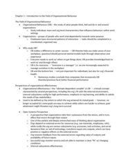 BUS 272 Chapter Notes - Chapter 1-4: Corporate Social Responsibility, Structural Capital, Organizational Effectiveness