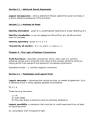 PHIL 210 Study Guide - Midterm Guide: Disjunction Elimination, Disjunction Introduction, Conjunction Elimination