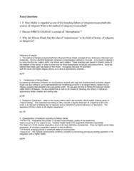 RLG101H5 Study Guide - Mircea Eliade, Mysterium Tremendum, Hierophany