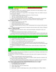 RLG101H5 Lecture Notes - Mircea Eliade, Firmament, Devil (Islam)