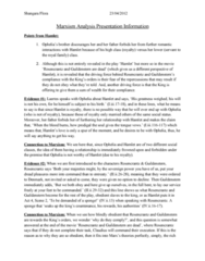Marxism Analysis Presentation Information.doc