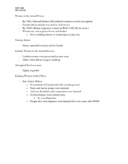 HIST 260 Lecture Notes - Hutterite