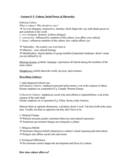 PSYB10H3 Lecture Notes - Meritocracy, Impression Formation, Extraversion And Introversion