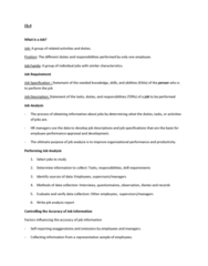 HRM 2600 Lecture Notes - Fax, Industrial Engineering, Telecommuting