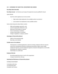 HRM 2600 Lecture Notes - Job Sharing, Fasttrack, Career Development
