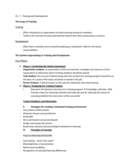 HRM 2600 Lecture Notes - Virtual Learning Environment, Decision-Making, Problem Solving
