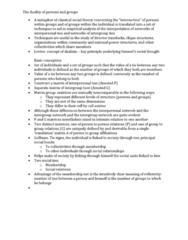 SOC356Y1 Study Guide - Erving Goffman, Matrix Group