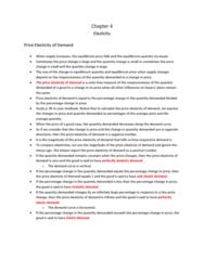 Economics 1021A/B Lecture Notes - Normal Good, Inferior Good, Economic Equilibrium