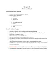 Economics 1021A/B Lecture Notes - Externality, Deadweight Loss, Robert Nozick
