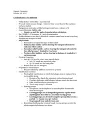 Chemistry 1027A/B Lecture Notes - Stereochemistry, Chart Attack, Racemic Mixture