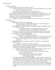 SOC250Y1 Lecture Notes - Recapitulation Theory, Homo Sapiens, James George Frazer
