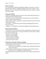 ITM 102 Chapter Notes - Chapter 5: E-Commerce, Online Advertising, Perfect Competition