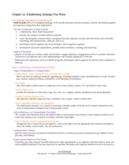 BU354 Lecture Notes - Grater, Canada Pension Plan, Job Evaluation