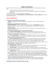 SOCA02H3 Lecture Notes - Hair (Musical), Differential Association, Conflict Theories