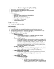 ACTG 2P40 Lecture Notes - Sole Proprietorship, Share Capital, Legal Personality