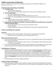 PSYB65H3 Study Guide - Final Guide: Neurotransmitter Receptor, Anxiolytic, Temporal Lobe