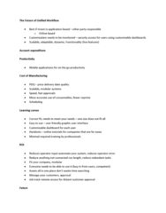 GRA 743 Lecture Notes - Workflow, Graphical User Interface, Intranet