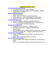 PSYCH 1X03 Study Guide - Final Guide: Stanford Prison Experiment, Psychopathy, Etiology