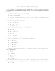 MATH 1502 Study Guide - Absolute Convergence, K2K Experiment, Trapezoidal Rule