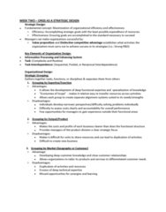 ORGS 2010 Study Guide - Final Guide: Sensemaking, Social Loafing, Social Exchange Theory